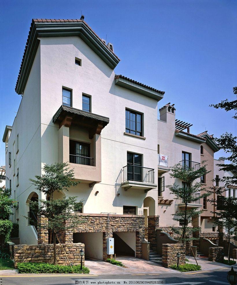 房地产建筑 欧式别墅 欧式建筑 欧式小区 别墅建材 别墅外立面